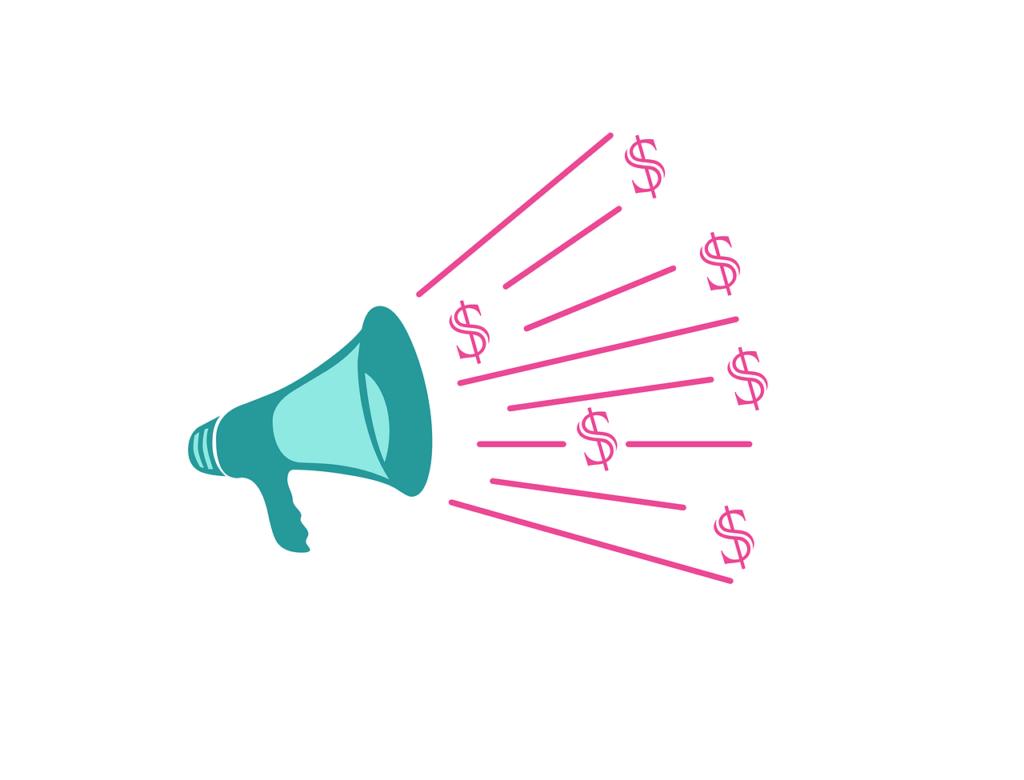 megaphone - sponsor-salg